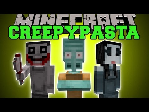 Minecraft: CREEPYPASTA (BEWARE, EVIL AWAITS YOU!) Mod Showcase - PopularMMOs  - B3bEnJyRI6Y -