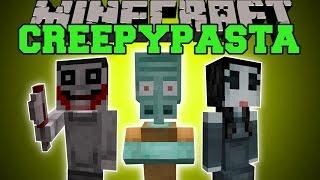 Minecraft: CREEPYPASTA (BEWARE, EVIL AWAITS YOU!) Mod Showcase