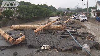 九州北部豪雨を激甚災害指定へ 農地被害66億円に(17/07/21)
