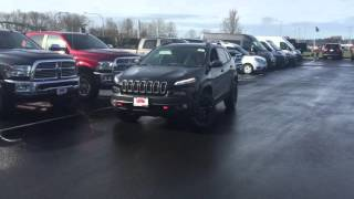 2016 Jeep Cherokee Park Assist System