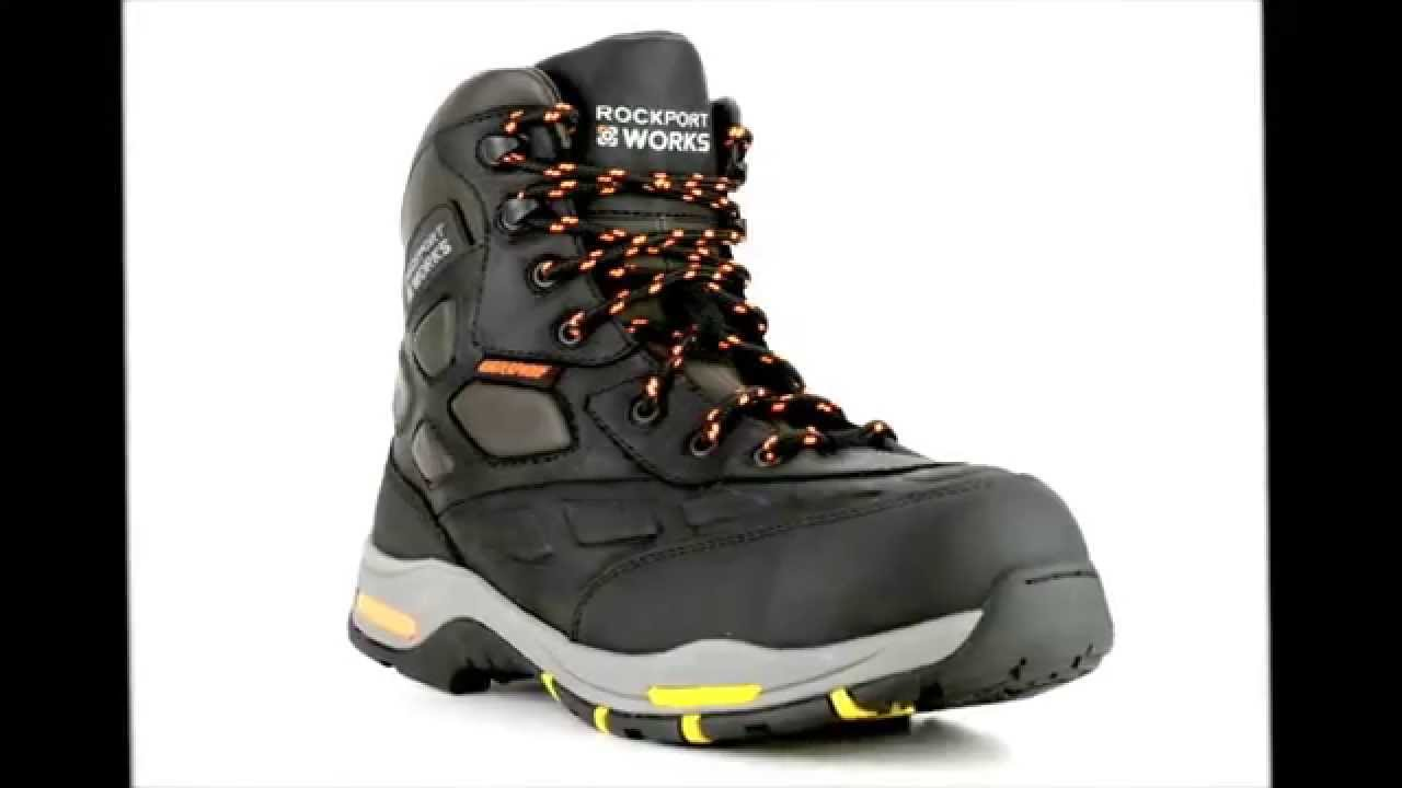 Mens Rockport RP5660 Composite Toe Waterproof Metal Free Hiker ...
