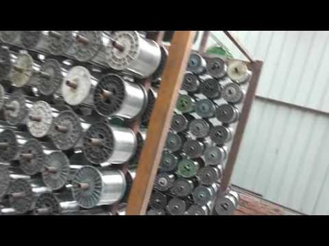 stainless steel wire mesh weaving machine
