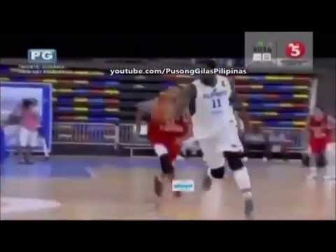 Andray blatche back to back Dunks Against Egypt