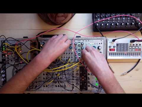 Live Jam #65 - 30min Live set - Eurorack modular system and Korg Volca Sample