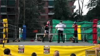 7 Luglio 2012. Andrea De Filippis vs Mauro Messidoro (Kick Boxing Light)