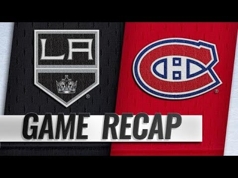 LOS ANGELES KINGS VS MONTREAL CANADIENS 10/11/18