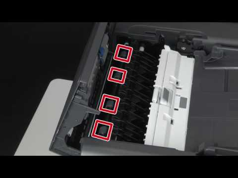 [C/MC500 series] How to clean rollers in the Scanner?