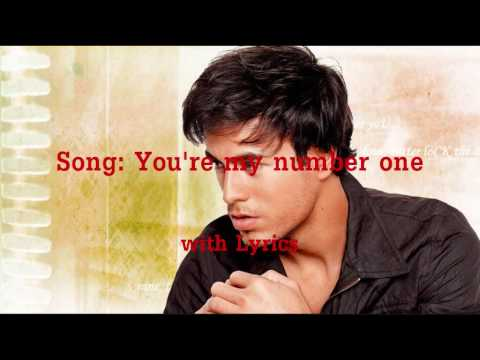 you are my number one lyrics: