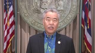 Governor David Y. Ige State of Hawai'i