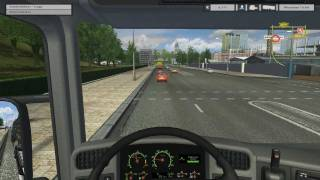 Euro Truck Simulator - Patch 1.3 - HD Gameplay - www.svetsim.cz