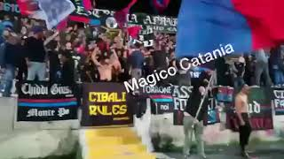 """Ultras CURVA SUD CATANIA """"Siamo la SUD , vogliamo vincere""""   CATANIA-catanzaro 1-0 (55' Caccetta)"""