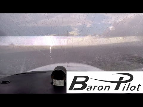 Flying in Florida - Thunderstorms - Adapting To Mother Nature's Plans - Beechcraft Flying Vlog