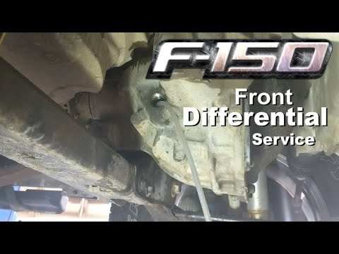 Differential Fluid Change >> 2016 F150: Front Differential Fluid Change (easy) - YouTube