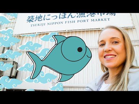 Inside Tokyo Tsukiji Fish Market (Behind-the-Scenes Tour) 🍣🐟