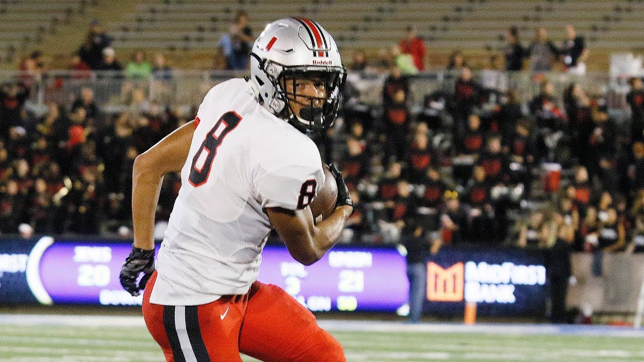 2017 backyard bowl adrian wilson union 70 yard touchdown