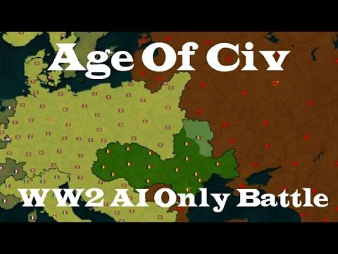 Age Of Civilization - The 2nd World War Scenario On AOC Europe (Android)