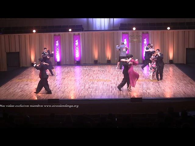Mundial de tango  2021 Ronda 11 Pista, tema 3de3 Tango Buenos Aires #TangoBA