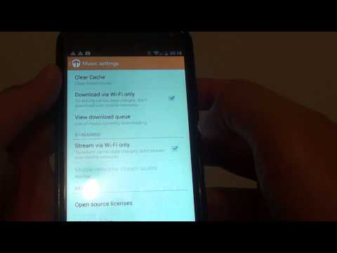 Google Nexus 4: How to Stream Music Only Via Wi-Fi