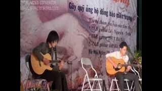 guitar quyên góp đồng bào miền trung-Đình Tân