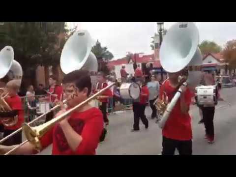 Richard Ira Jones Middle School Marching Band Plainfield Illinois Homecoming