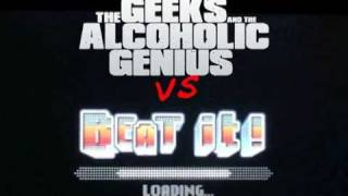 Beat It Michael Jackson - Djent Cover by The Geeks And The Alcoholic Genius