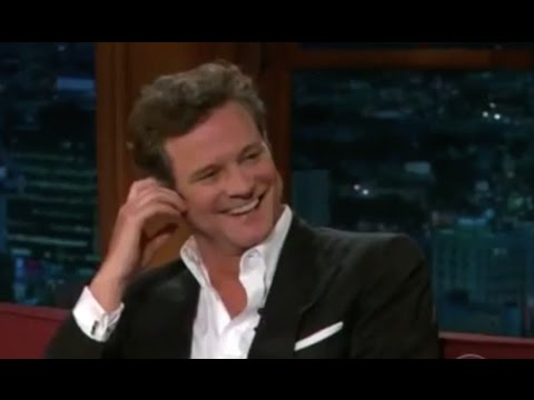 Colin FIRTH getting close & personal with Craig FERGUSON