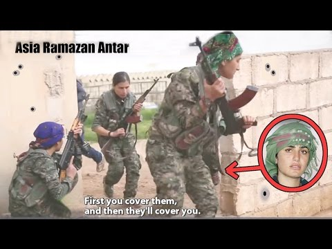 THE BEAUTIFUL KURDISH FEMALE WARRIOR KILLED BY ISIS - ASIA RAMAZAN ANTAR