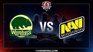 WGL GF 2016 - Semi-Finals - WOMBATS vs NAVI