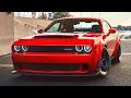 Dodge Demon 2018 - Fastest Quarter-Mile Car in The WORLD | Fastest 0-60 Car in the World