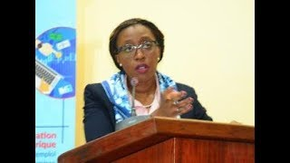 Vera's Songwe's unforgettable lecture on free trade and digital economy, in Yaounde
