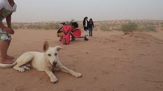 غرزت السكوتر في البر  وعماد يلعب مع الكلب ههههه😂