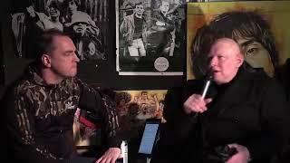 Shaun Ryder interviewed live on MMTV