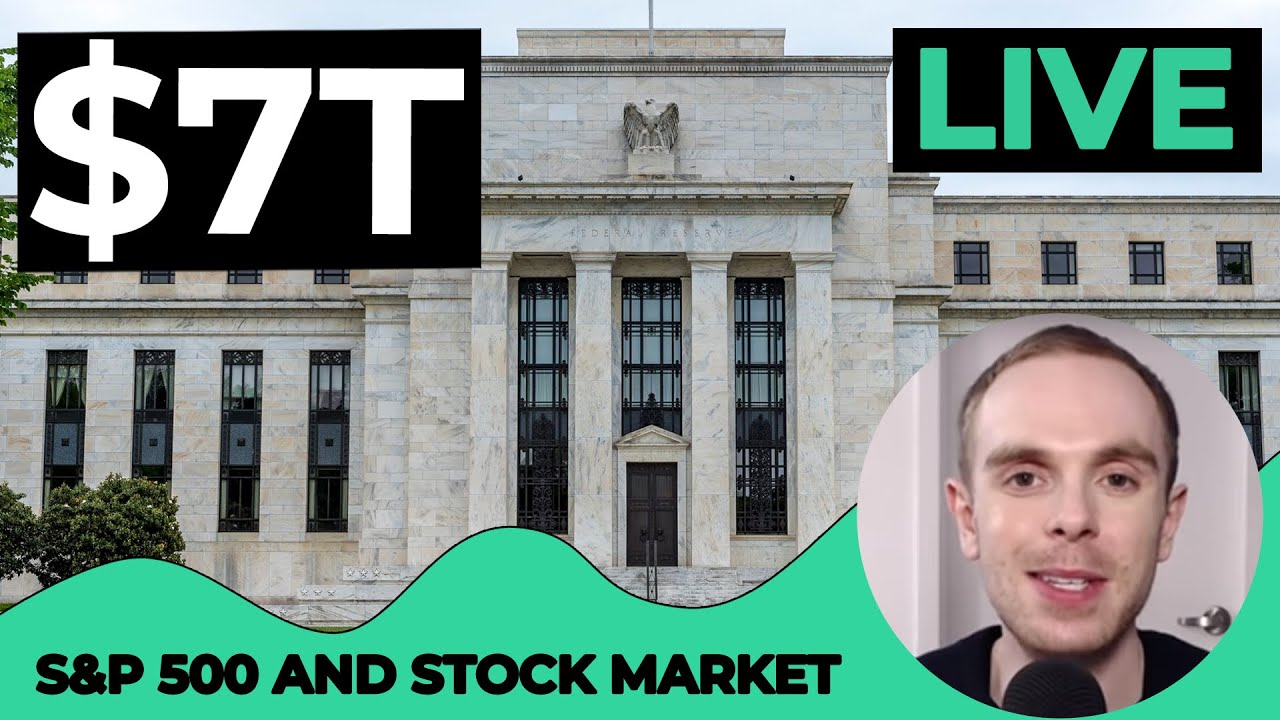LIVE S&P 500 Today - FED BALANCE SHEET DIPS BELOW $7T [S&P 500 Technical Analysis] July 10, 2020