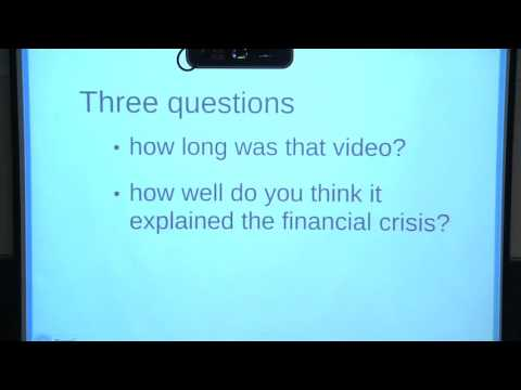 Lawrence Lessig - Institutional Corruption - Lecture 10