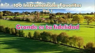 100 Instrumentales Favoritos vol. 1 - 027 Grande es tu fidelidad
