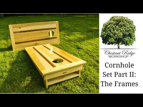 Cornhole Boards Part II - How To Build - Woodworking