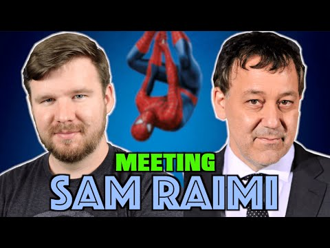 Meeting Sam Raimi (Director of Spider-man & Evil Dead) || My Experience