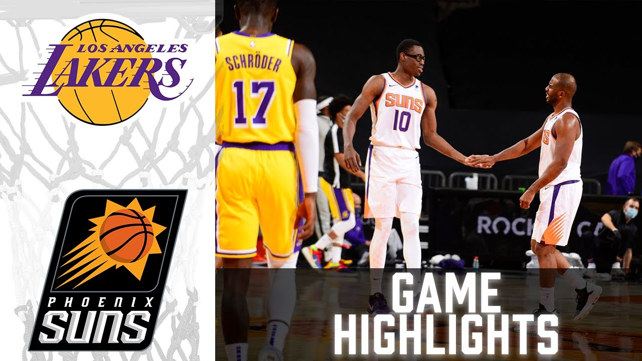 Lakers vs Suns HIGHLIGHTS Full Game | NBA March 21