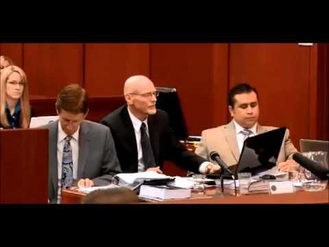Trayvon Martin : George Zimmerman : Trial Testimony Day 2 Part 3
