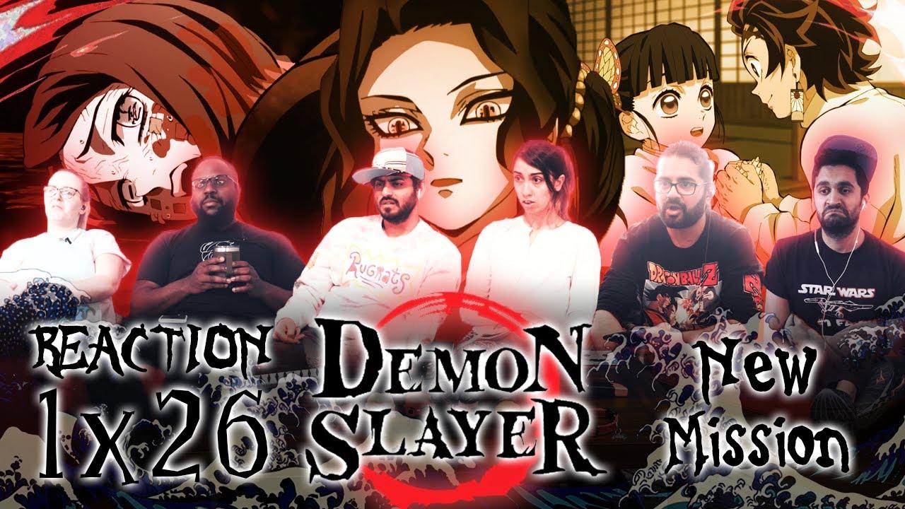 Download Demon Slayer - Episode 26 New Mission - Group Reaction