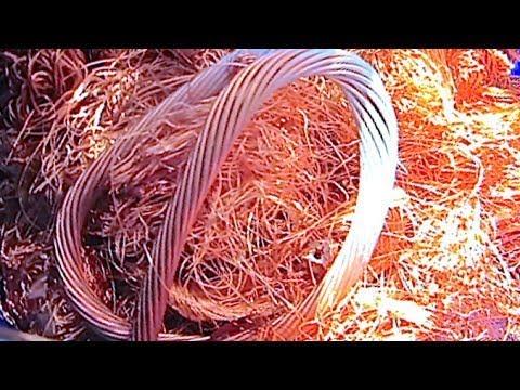 HUGE COPPER WIRE SCRAP YARD RUN   Make Money Selling Scrap Copper