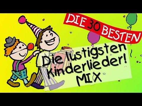 Der lustige Kinderlieder Mix – Die witzigsten Kinderlieder zum Mitsingen!