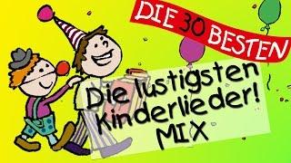 Der lustige Kinderlieder Mix - Die witzigsten Kinderlieder zum Mitsingen!