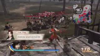 Dynasty Warriors 7 (US) - Lu Xun Story Gameplay - Battle of Yi Ling (Chaos Difficulty) [HD]