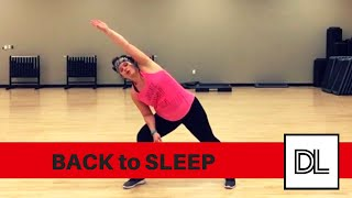 Back to Sleep by Chris Brown || Easy, original dance fitness cooldown routine