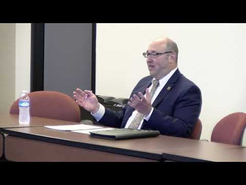 Chase College of Law Dean Search Open Forum - Michael Whiteman