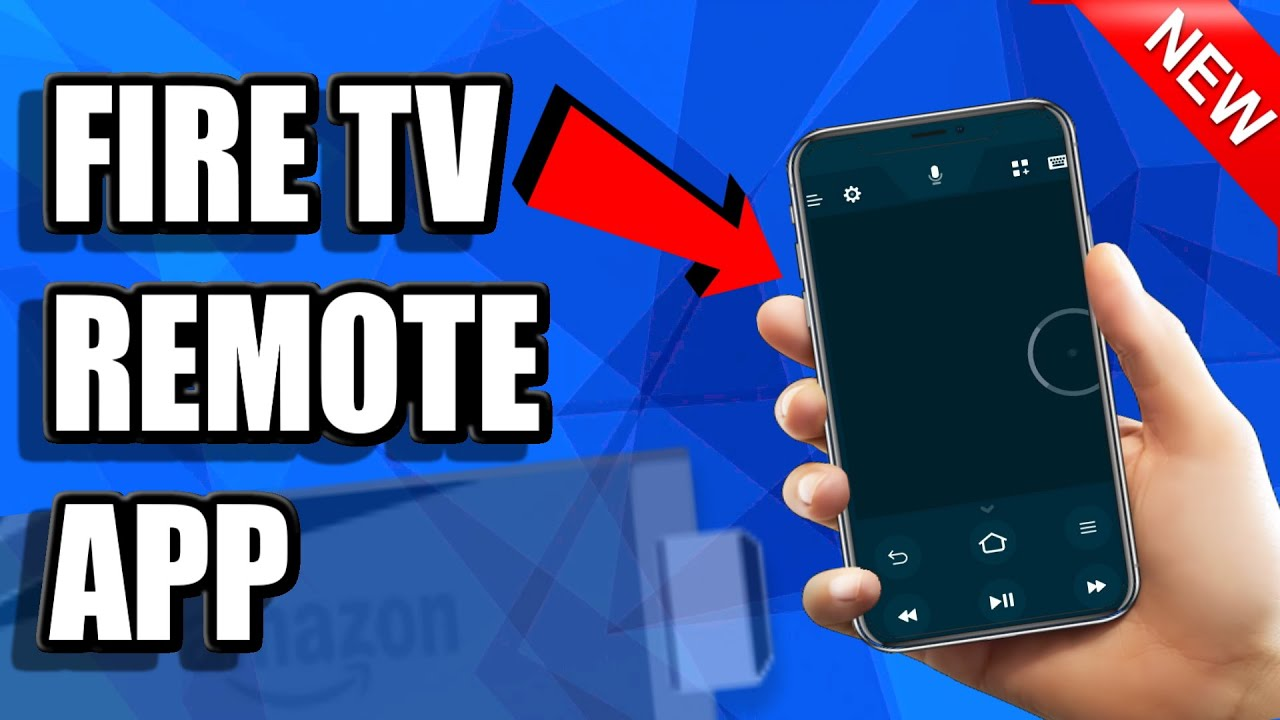 Fire TV Remote app | Control Firestick with Phone and type with KEYBOARD  (Ios & Android)