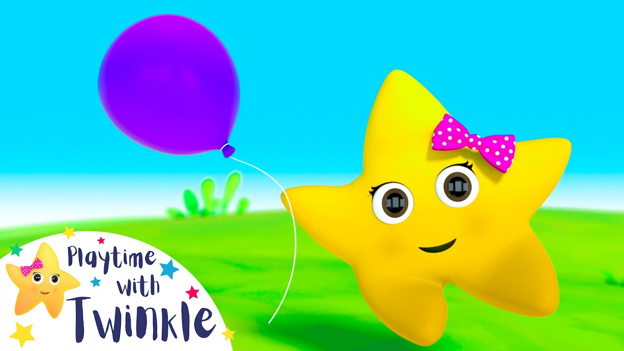 Twinkle And The Balloons | Kids Songs & Nursery Rhymes | ABC & 123 | Learn with Twinkle