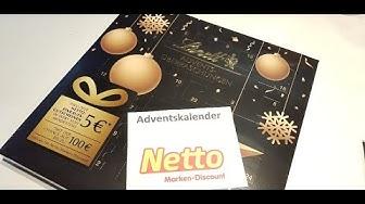 NETTO Adventskalender 2019 unboxing