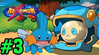 Đi Bắt Tàu Ngầm Dễ Thương Và Đánh Gym Đầu Tiên - Nexomon Game Giống Pokemon Phiên Bản Mobile #3